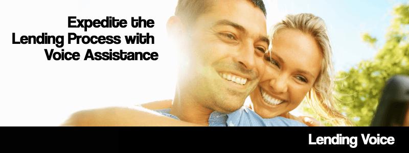 AI in lending. AWS Voice assist lending